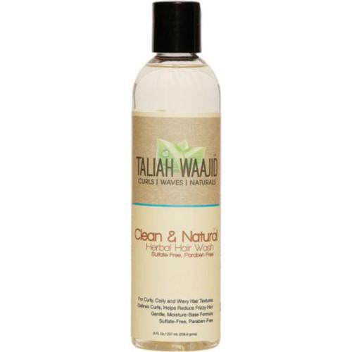 Taliah Waajid Curls, Waves, & Naturals Clean & Natural Herbal Hair Wash (8 oz.)