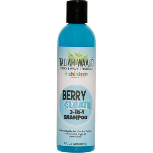 Taliah Waajid Kinky, Wavy, & Natural for Children Berry Clean 3-in-1 Shampoo (8 oz.)