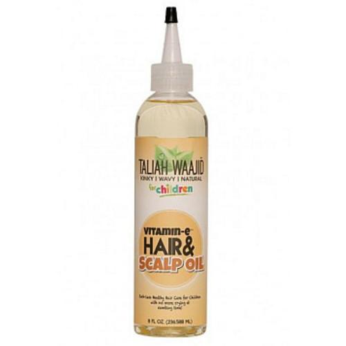 Taliah Waajid Kinky, Wavy, & Natural for Children Vitamin-E Hair & Scalp Oil (8 oz.)