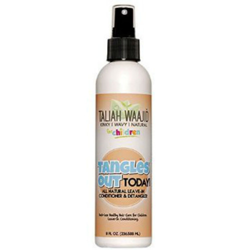 Taliah Waajid Kinky, Wavy, & Natural for Children Tangles Out Today All Natural Leave-in Conditioner & Detangler (8 oz.)