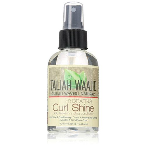 Taliah Waajid Curls, Waves & Naturals Hydrating Curl Shine Daily Leave-in Styling Conditioner (4 oz.)