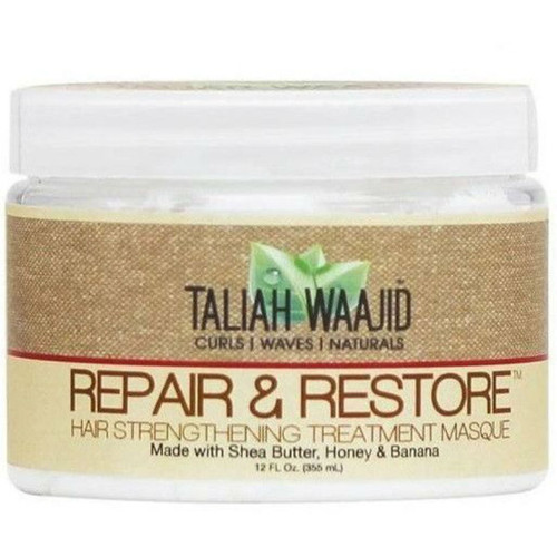 Taliah Waajid Curls, Waves, & Naturals Repair & Restore Hair Strengthening Masque (12 oz.)