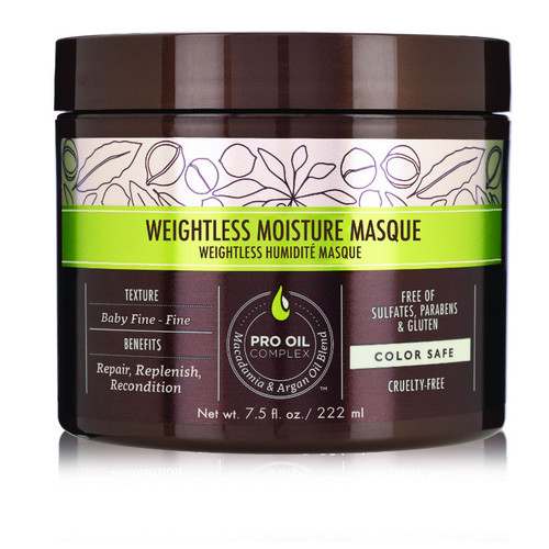 Macadamia Professional Weightless Moisture Masque (7.5 oz)