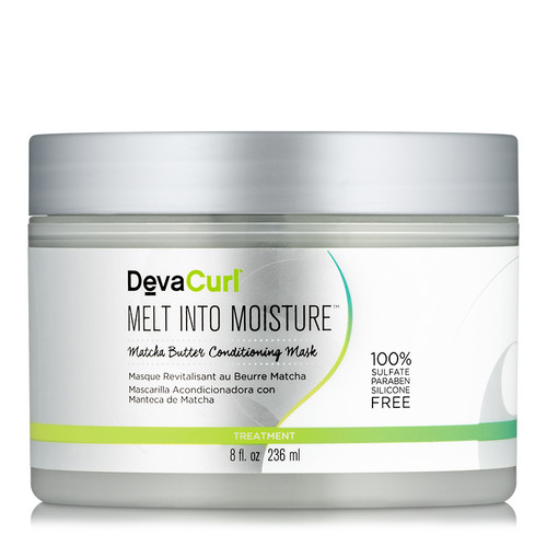 DevaCurl Melt Into Moisture Matcha Green Tea Butter Conditioning Mask (8 oz.)