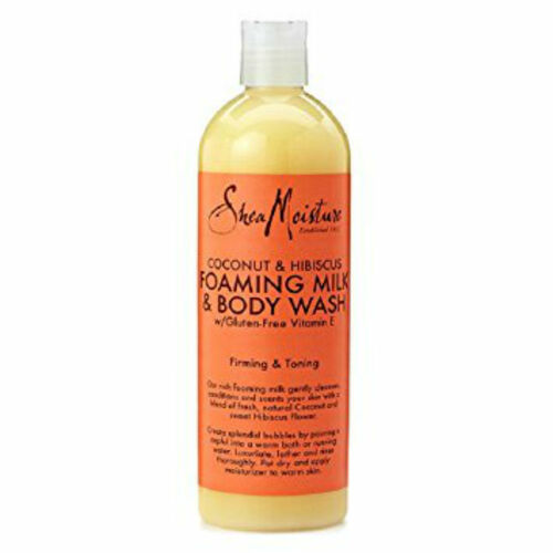 SheaMoisture Coconut & Hibiscus Foaming Milk & Body Wash (16 oz.)