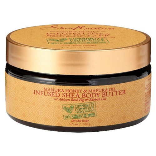 SheaMoisture Manuka Honey & Mafura Oil Infused Shea Body Butter (4.5 oz.)