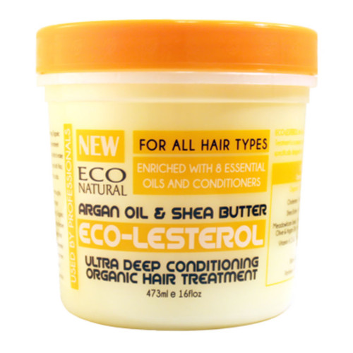 Ecoco Eco-Lesterol Argan Oil & Shea Butter Ultra Deep Conditioning Organic Hair Treatment (16 oz.)