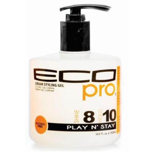 Ecoco Eco Pro Cream Styling Gel Play N' Stay (16.9 oz.)