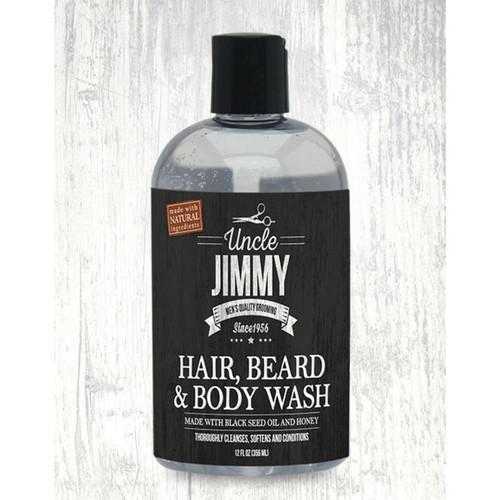 Uncle Jimmy Hair Beard & Body Wash (12 oz.)