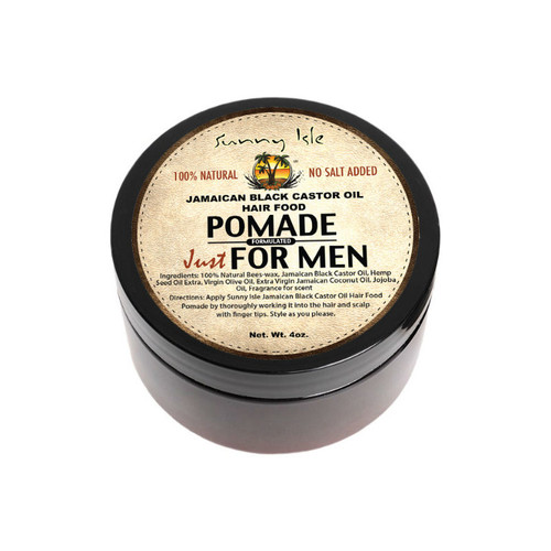 Sunny Isle Jamaican Black Castor Oil Pomade for Men (4 oz.)