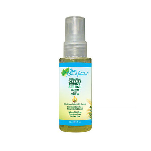 You Be-Natural Botanical Defrizz Define & Shine Serum (2 oz.)
