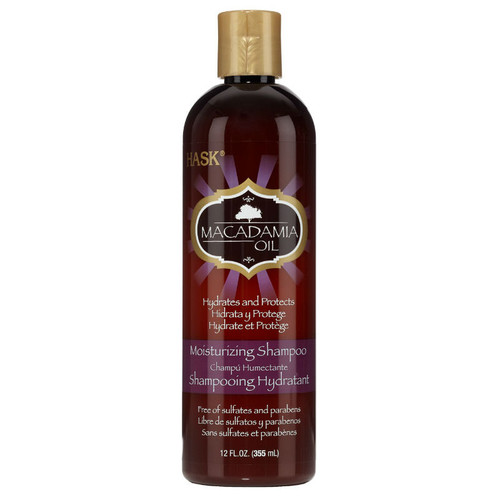 HASK Macadamia Oil Moisturizing Shampoo (12 oz.)