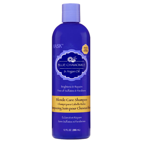 HASK Blue Chamomile & Argan Oil Blonde Care Shampoo (12 oz.)