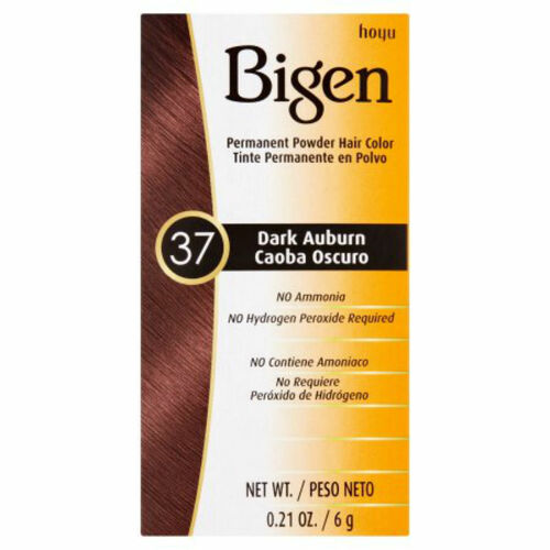 Bigen #37 Dark Auburn Permanent Hair Color (0.21 oz.)
