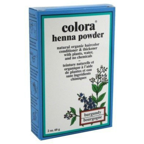 Colora Henna Powder Burgundy (2 oz.)