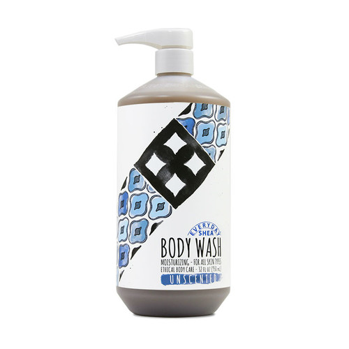 Everyday Shea Body Wash - Unscented (32 oz.)