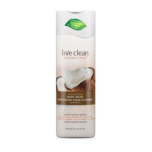 Live Clean Coconut Milk Moisturizing Body Wash (17 oz.)