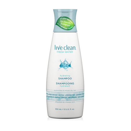 Live Clean Fresh Water Hydrating Shampoo (12 oz.)