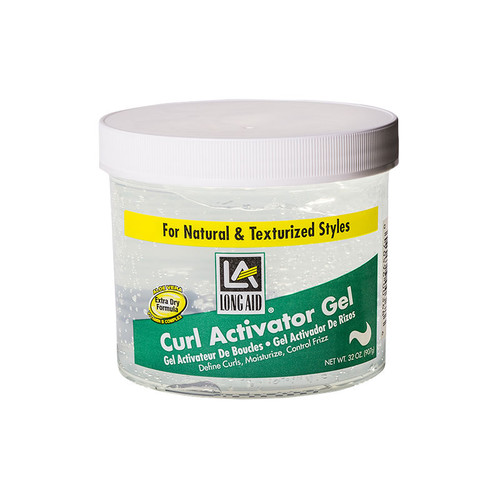 LONG AID Curl Activator Gel for Extra Dry Hair (32 oz.)