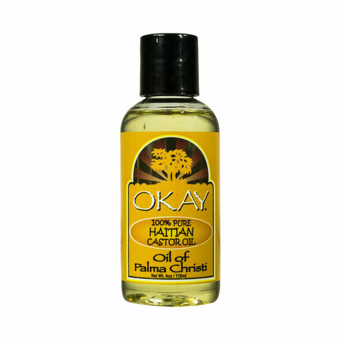 OKAY Pure Naturals Pure Haitian Castor Oil (4 oz.)