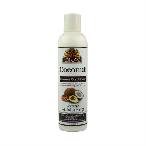 OKAY Pure Naturals Deep Moisturizing Coconut Leave-In Conditioner (12 oz.)