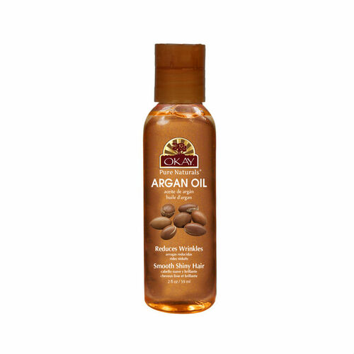 OKAY Pure Naturals Argan Oil for Hair and Skin (2 oz.)