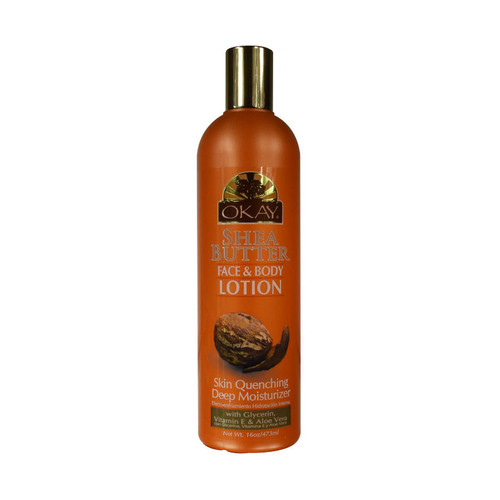 OKAY Pure Naturals Shea Butter Face and Body Lotion (16 oz.)
