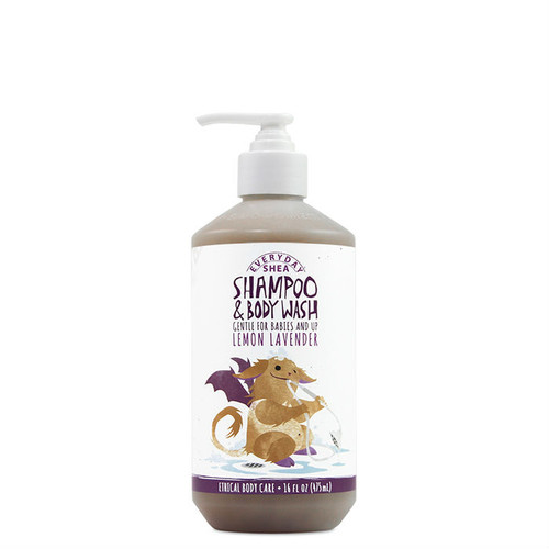 Everyday Shea Babies & Up Shampoo & Body Wash - Lemon Lavender (16 oz.)