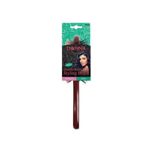 Donna Double Sided Boar Bristle Styling Brush