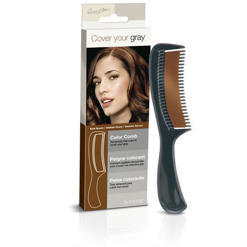 Cover Your Gray Color Comb Dark Brown (0.33 oz.)
