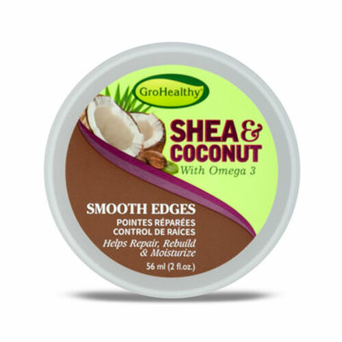 GroHealthy Shea & Coconut Smooth Edges (2 oz.)