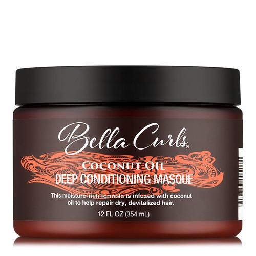 Bella Curls Coconut Oil Deep Conditioning Masque (12 oz.)