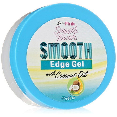 Luster's Pink Smooth Touch Smooth Edge Gel with Coconut Oil (2 oz.)