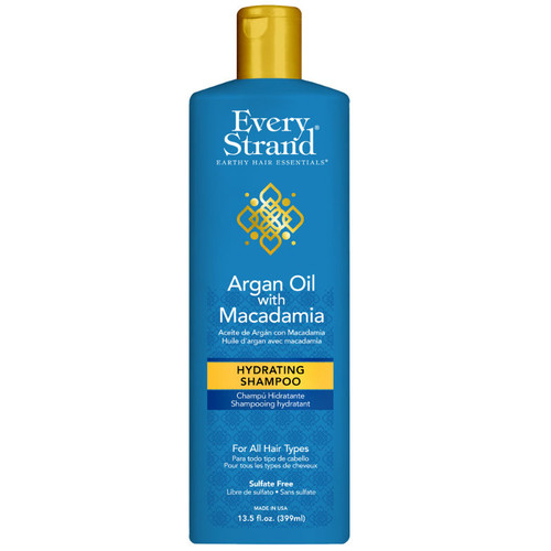 Every Strand Argan Oil with Macadamia Hydrating Shampoo (13.5 oz.)