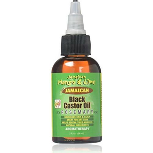 Jamaican Mango & Lime Jamaican Black Castor Oil Rosemary (2 oz.)