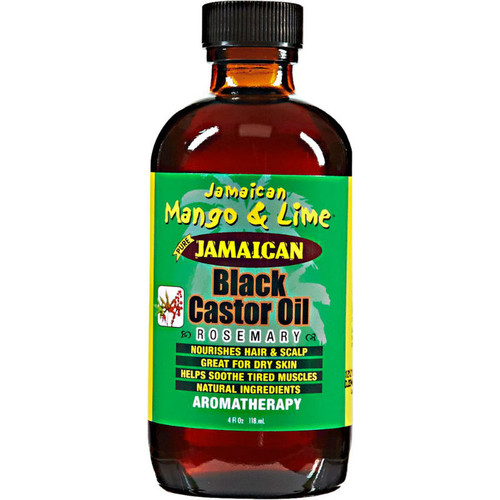 Jamaican Mango & Lime Jamaican Black Castor Oil Rosemary (4 oz.)