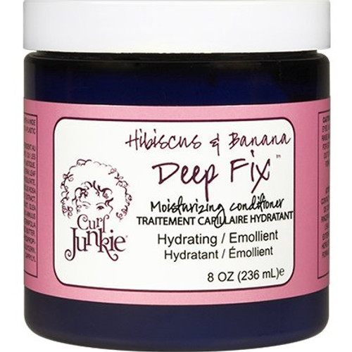 Curl Junkie Hibiscus & Banana Deep Fix Moisturizing Conditioner (8 oz.)
