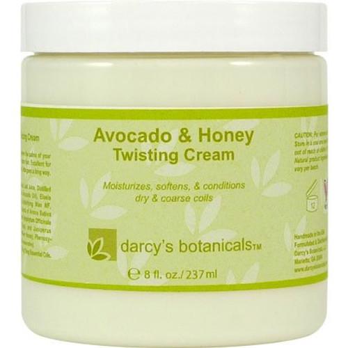 Darcy's Botanicals Avocado & Honey Twisting Cream (8 oz.)