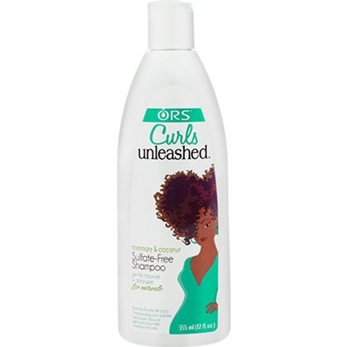 Organic Root Stimulator Curls Unleashed Rosemary & Coconut Sulfate-Free Shampoo (12 oz.)