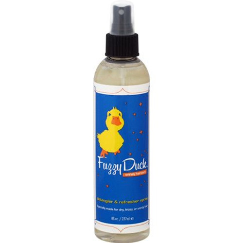 Review: Fuzzy Duck Detangler & Refresher Spray (8 oz.)