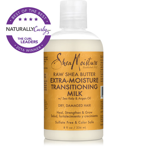 SheaMoisture Raw Shea Butter Extra-Moisture Transitioning Milk (8 oz.)