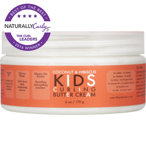 SheaMoisture Coconut & Hibiscus Kids Curling Butter Cream (6 oz.)