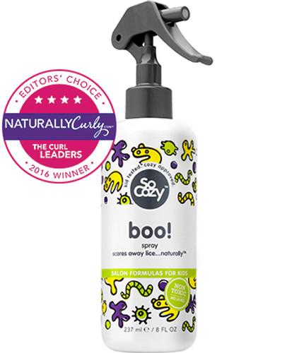 Review: SoCozy Boo! Lice Prevention Leave-In Spray (8 oz.)