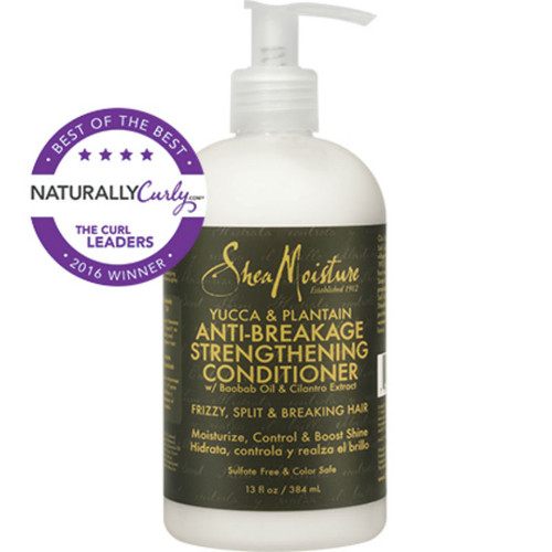 SheaMoisture Yucca & Plantain Anti-Breakage Strengthening Conditioner (13 oz.)