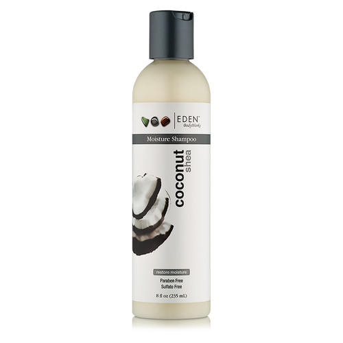 EDEN BodyWorks Coconut Shea All Natural Moisture Shampoo (8 oz.)