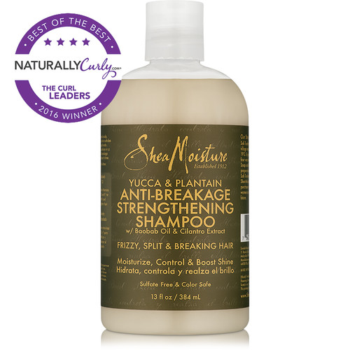 SheaMoisture Yucca & Plantain Anti-Breakage Strengthening Shampoo (13 oz.)