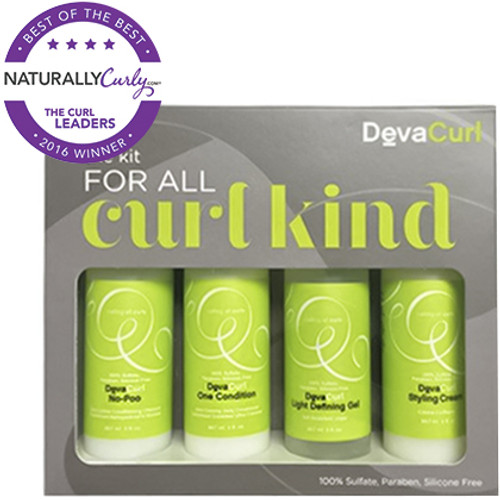 DevaCurl Travel Kit for All Curl Kind