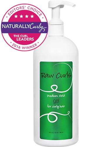 Review: Raw Curls Medium Hold Gel (32 oz.)