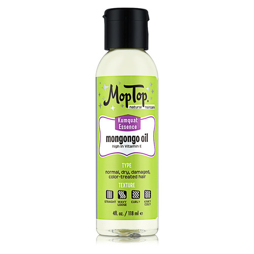 Mop Top Kumquat Essence Mongongo Oil (4 oz.)