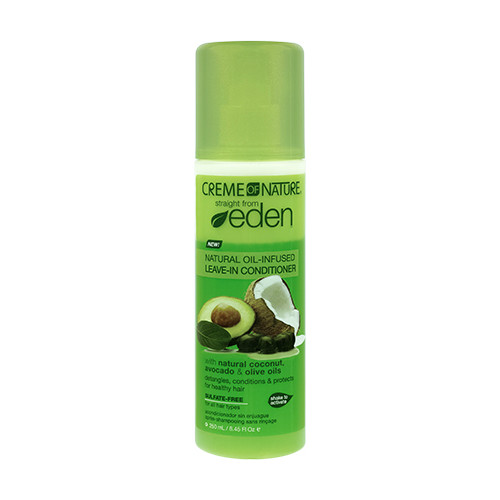 Creme of Nature Straight from Eden Natural Oil-Infused Leave-In Conditioner (8.45 oz.)